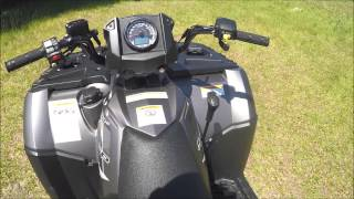 3. 2015 Polaris Sportsman 850 SP (walk through)