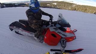 5. Ski Doo Renegade sport test drive Colorado Mountains