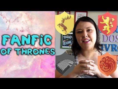 Fanfic of thrones - teorias dos fãs, usadas em Game of thrones (English subtitles)
