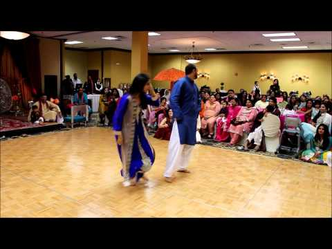 mehndi dance - Congratulations Ausaff and Sonia Chaudhry! Mehndi Dance Maryland 06.13.14.