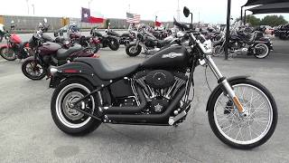 7. 037574 - 2009 Harley Davidson Softail Night Train   FXSTB - Used motorcycles for sale