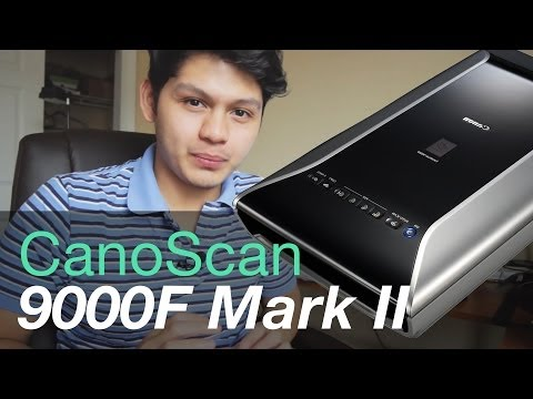 CanoScan 9000F Mark II Film Scanner Review