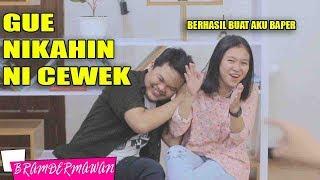 Video Perang Pantun Baper Gue Nikahin Ni cewek Lucu banget - Bram Dermawan MP3, 3GP, MP4, WEBM, AVI, FLV April 2019