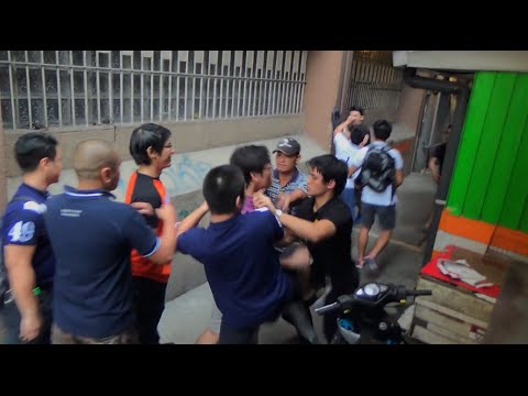 """Brawl - The Manila Police have filed charges against two fraternity members who were arrested after engaging in a fistfight during the traditional """"Salubong"""" which marked the last day of the 2014..."""