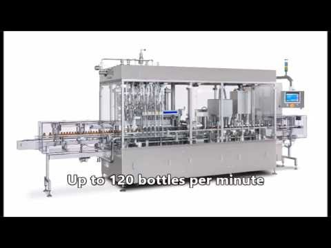 MonoblockLiquid Filling, Capper, Stoppering and Crimping Machine