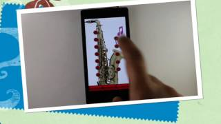 Real Saxophone YouTube video