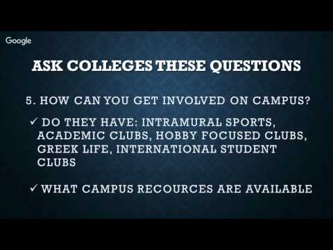 Before you Attend a US College, Ask These Questions