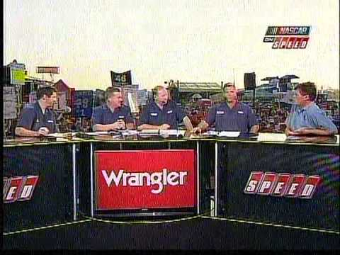 Michael Waltrip Sees Elvis on Trackside Live 2008