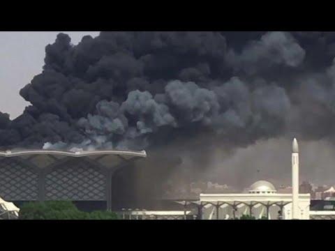Σ. Αραβία: Φωτιά σε σιδηροδρομικό σταθμό