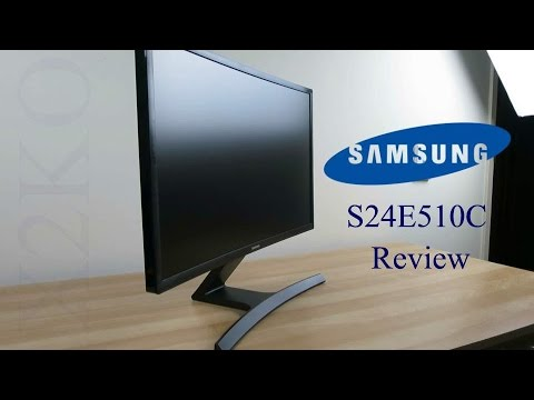 Samsung S24E510C curved monitor review