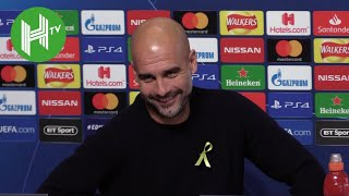 Download Video Man City v Shakthar | Pep Guardiola: David Silva is most incredible player playing in the pockets MP3 3GP MP4