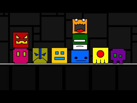 Geometry Dash Teleportation Portal Animation - The End