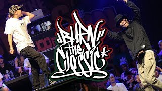 Ryu vs Jaygee – BURN THE CLASSIC 2017 POPPIN 16 ROUND