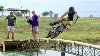 Video Dirt Bike Battle | Dude Perfect MP3, 3GP, MP4, WEBM, AVI, FLV November 2018
