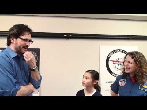 Tim Pickens interviews student at Valley Intermediate School -  4