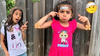 The Boo Boo Song story! with Deema and Sally for Kids