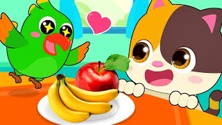 Video Little Parrot is Hungry | Learn Colors, Food Song | Kids Songs | Kids Cartoon | BabyBus MP3, 3GP, MP4, WEBM, AVI, FLV Juni 2019