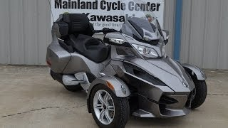 5. 2012 Can Am Spyder RT
