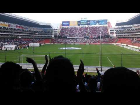 Liga de quito vs San lorenzo 2016 recibimiento MB - Muerte Blanca - LDU
