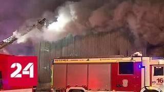 Пожар на Басовской улице: спасены четверо