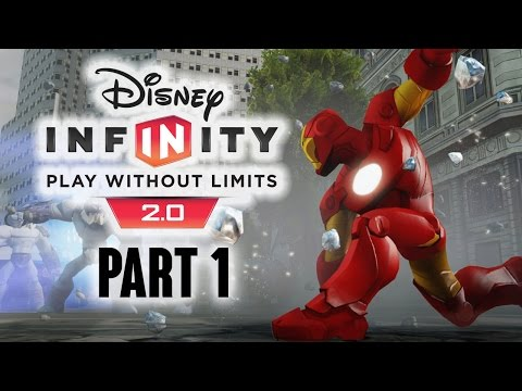 2.0 - NEW Disney Infinity 2.0 Gameplay - Disney Infinity 2.0 Walkthrough Part 1 - Ironman Avenger Set PS4 Xbox One Xbox 360 PS3 Wii U - Want to see more ? Next Part - http://youtu.be/RlWuLLzAYLE...