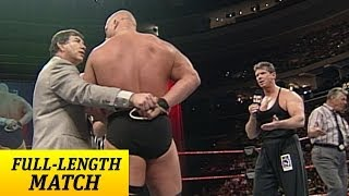 """Video """"Stone Cold"""" Steve Austin battles Mr. McMahon with one arm tied behind his back MP3, 3GP, MP4, WEBM, AVI, FLV Agustus 2019"""