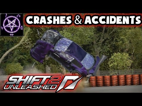 Need for Speed Shift 2 - Crashes and Accidents