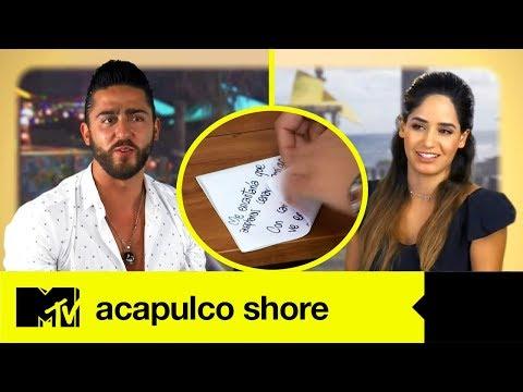 Cartas de amor - La Carta De Amor De Alexya A Potro  Acapulco Shore 4