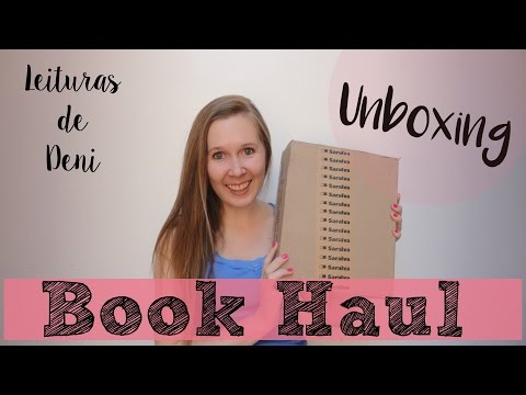 Unboxing Book Haul | Janeiro 2016