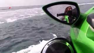 9. First to ride in a new 2014 Kawasaki Ultra 310LX part 2