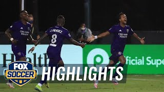 Orlando SC tops Inter Miami on last-minute goal in first match of MLS is Back   2020 MLS Highlights by FOX Soccer