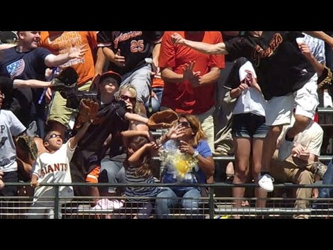 two - 7/30/14: Jordy Mercer puts the Pirates in front, 5-4, with a two-run home run to left that knocks the cup out of a fan's hand Check out http://m.mlb.com/video for our full archive of videos,...