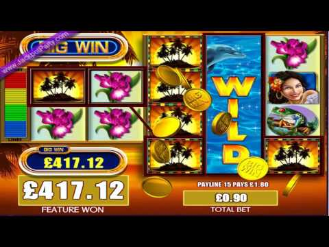 £602.88 MEGA BIG WIN (670 X STAKE) FORTUNES OF THE CARIBBEAN™ JACKPOT PARTY® BEST SLOT GAMES