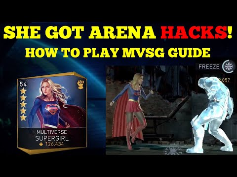 MVSG Got Arena Cheats! Legendary Characters Stand No Chance! How To Play MVSG Injustice 2 Mobile