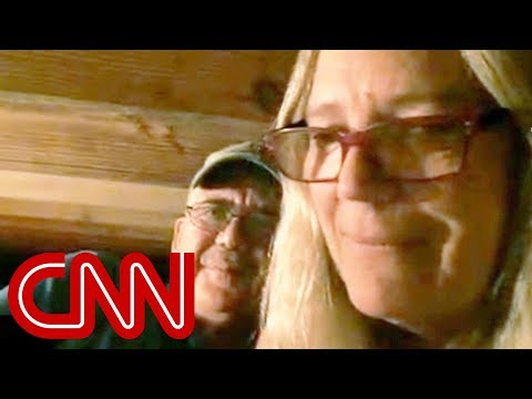 Couple rides out hurricane under crawlspace