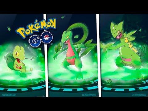 La MEJOR EVOLUCIÓN DE TREECKO GROVYLE SCEPTILE en Pokémon GO [Keibron]