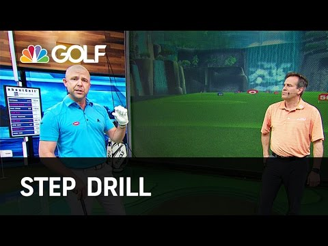 Step Drill – Lesson Tee Live | Golf Channel