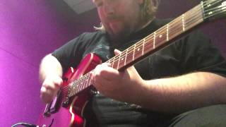 A little jam on an Epiphone Dot