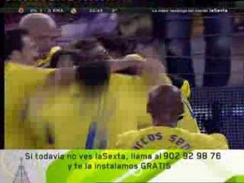 Villarreal 1 - 0 Real Madrid (Primer Triunfo a los Merengues 2006)
