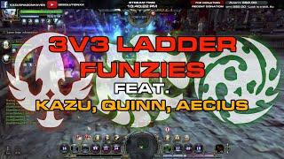 AikawaKazu (Moonlord), Clazzifyre (Artillery) & Arteey (Abyss Walker) 3v3 Ladder Series Funzies ! The unlikely trio combination...