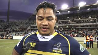 POST MATCH: Ita Vaea chats after the Crusaders match | Super Rugby Video