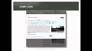 Chalk&Wire Featured in Exploring Eportofolio Technologies Webinar