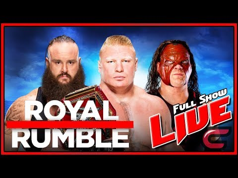 WWE Royal Rumble 2018 Live Stream Full Show January 28th 2018 Live Reactions Royal Rumble Match Live