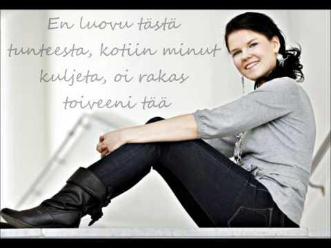 Saara Aalto - Toiveeni Tää [Sanat] tekijä: KaisaKatariina_