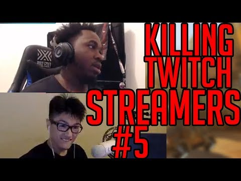 Killing Twitch Streamers! w/ reactions #5 (Overwatch)