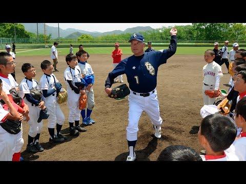西脇で名球会の野球教室