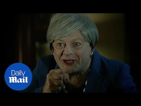 Andy Serkis absolutely CRUCIFIES Theresa May with Gollum portrayal