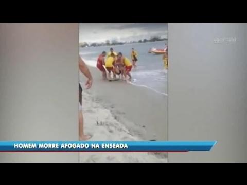 Homem morre afogado na Enseada, em São Francisco do Sul