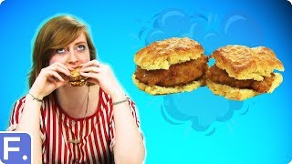 Irish People Try Southern Sandwiches