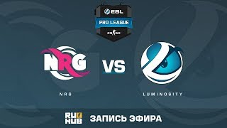 NRG vs Luminosity - ESL Pro League S6 NA - de_train [sleepsomewhile, Crystalmay]